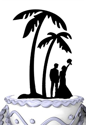 Palm Tree clipart wedding Cake Beachfront Toppers Best Best