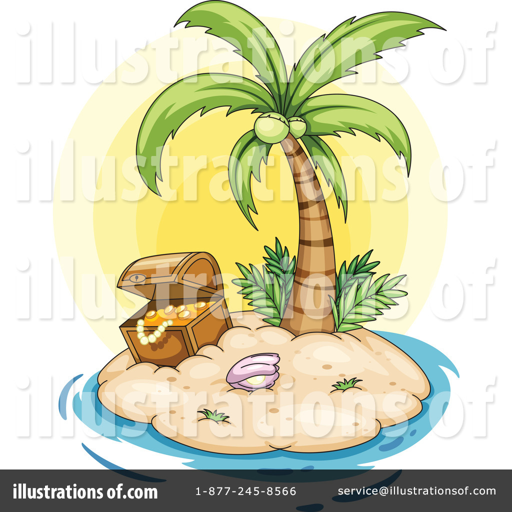 Palm Tree clipart yellow Clipart by Tree Illustration (RF)