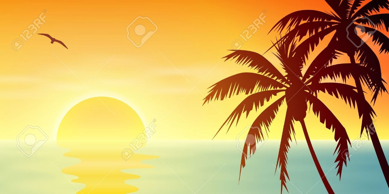 Palm Tree clipart yellow Download Clipart Palm Art Tree