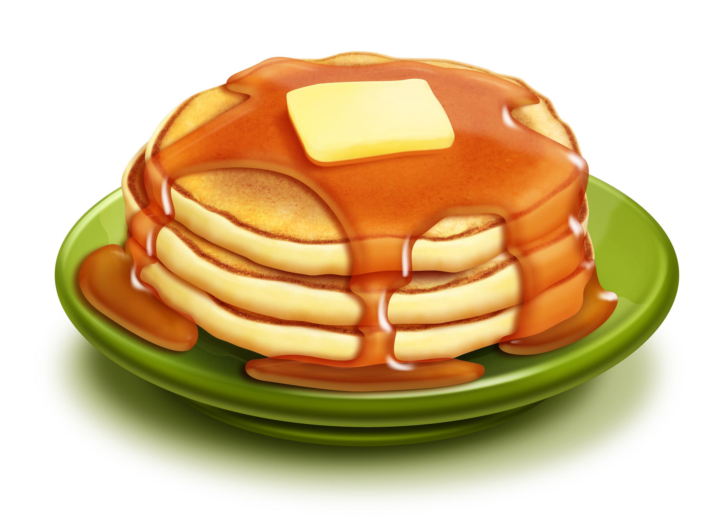 Breakfast clipart pancake Cartoon Free Pancakes Art Clip