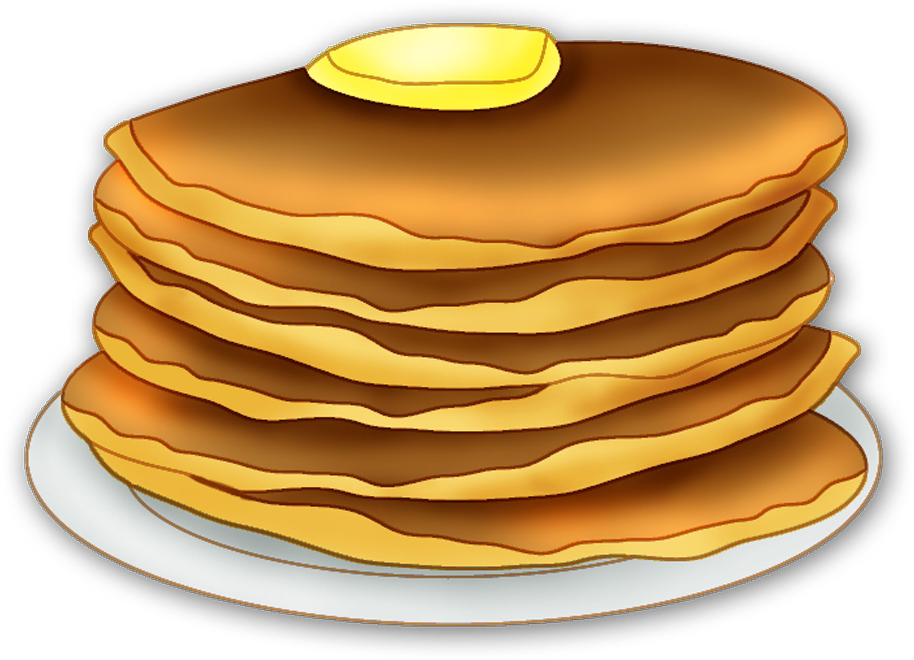 Pancake clipart stacked Com Clipart Clipart Pancake Clipartion