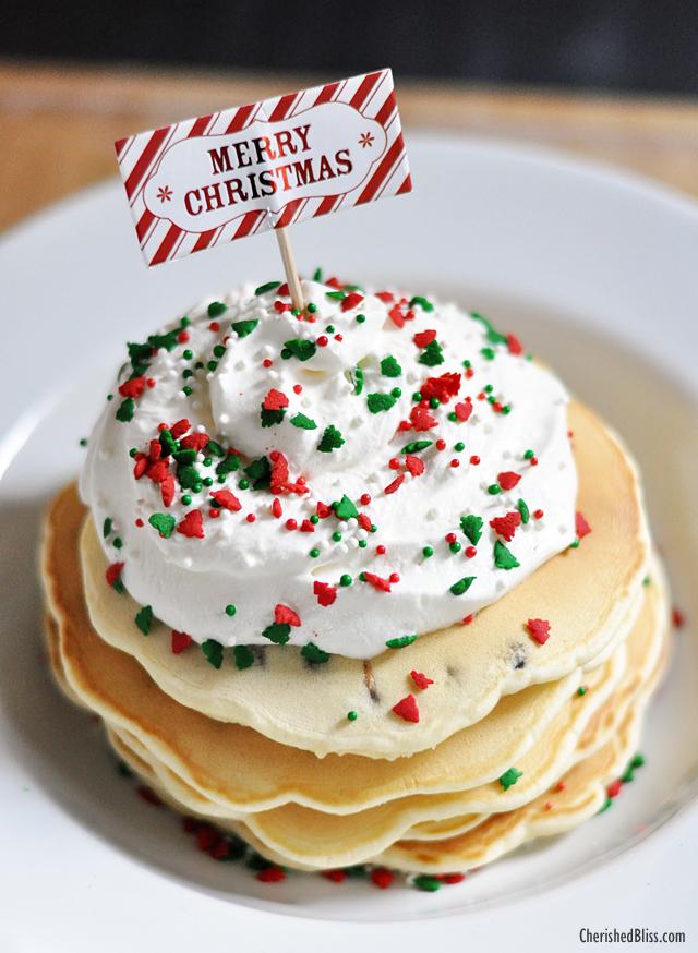 Pancake clipart christmas Cherished Chocolate w/ Christmas Pancakes