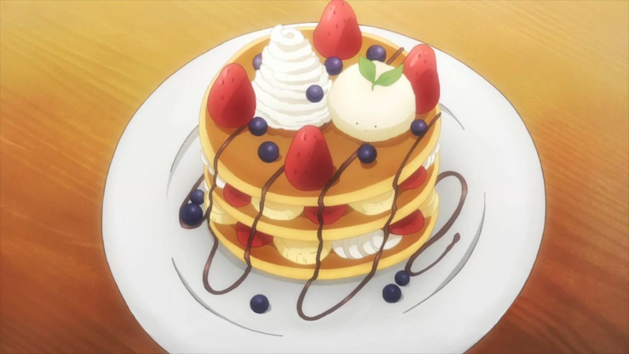 Pancake clipart christmas Gochuumon Desu Usagi Itadakimasu (Christmas