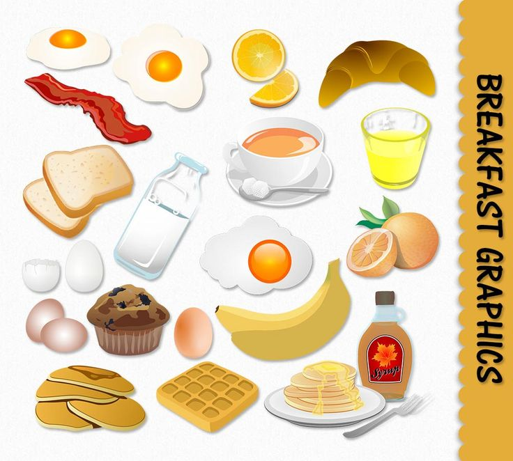 Pancake clipart cooking breakfast Alimentos crepes Clip images leche