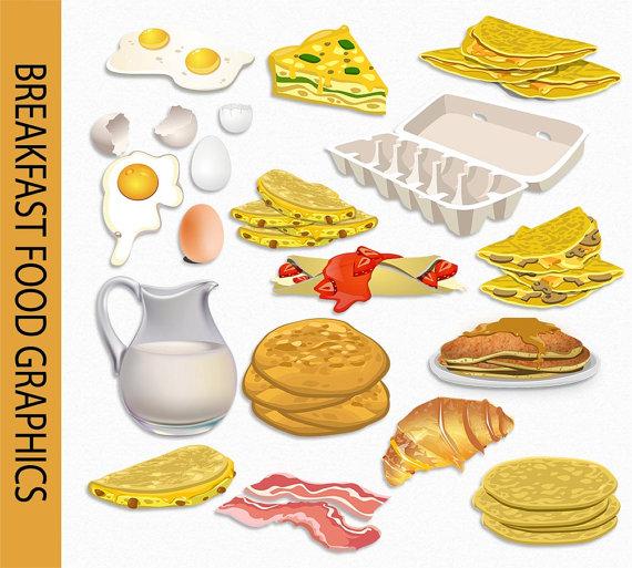 Pancake clipart cooking breakfast Scrapbook Clip Milk Omelette Art