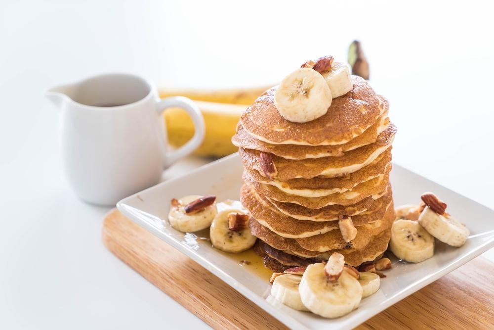 Pancake clipart fruit topping Banana Make (Nov topping 2016)