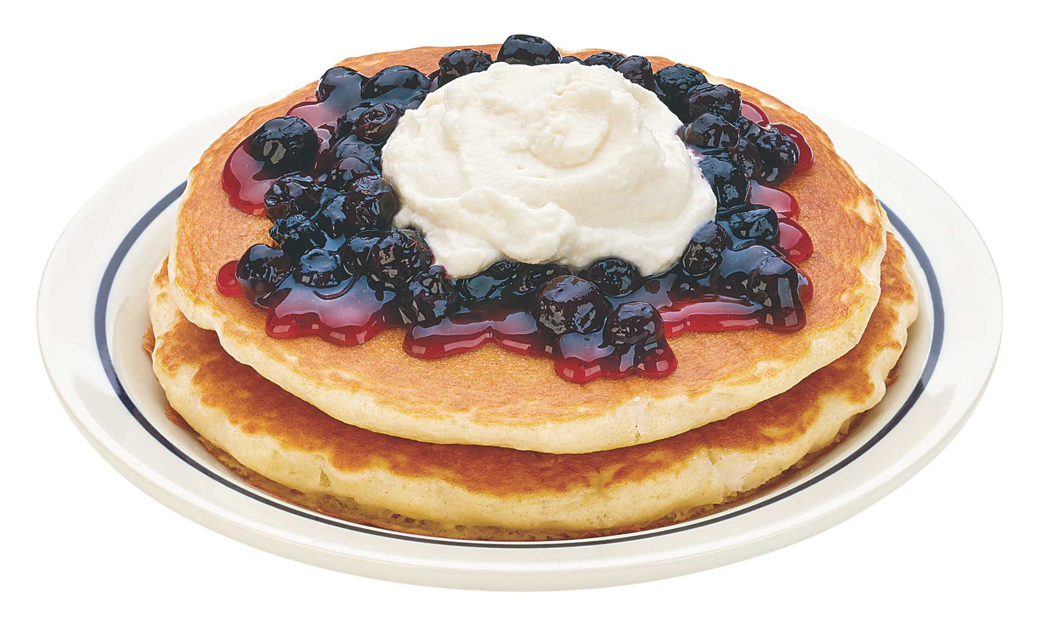 Pancake clipart fruit topping  breakfast At a dessert?