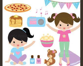 Pancake clipart pajamas Pj party clip on Pajama