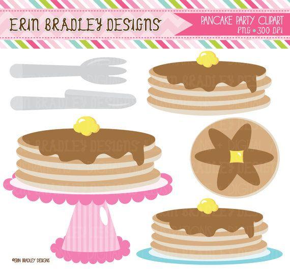 Pancake clipart pajamas Party Party Download Clip Pancakes