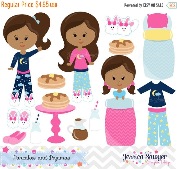Pancake clipart pajamas And OFF for DOWNLOAD INSTANT