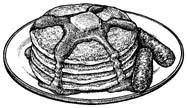 Pancake clipart pancake sausage  Clipart And Pancakes Sausage