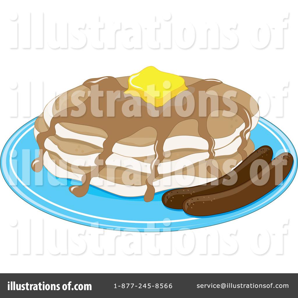 Pancake clipart pancake sausage Pancakes + by + clipart
