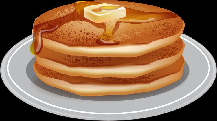 Pancake clipart stack pancake Art Stack Of April Clip