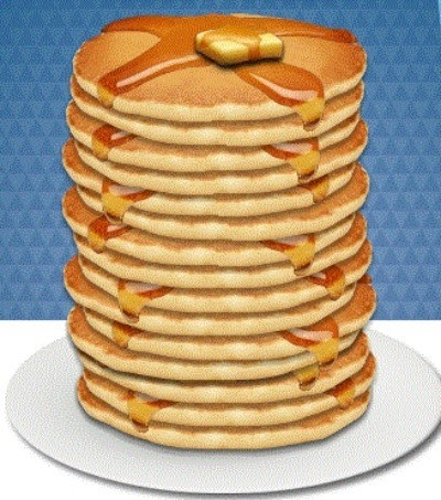 Pancake clipart stack pancake Out Calories Home the of