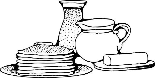 Pancake clipart vector Art With Pancakes Vector pancakes