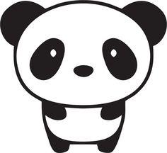 Panda clipart #10