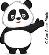 Panda clipart Royalty Clip Panda gesture Free