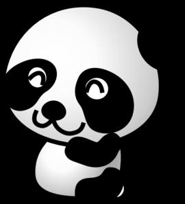 Panda clipart #1