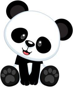 Simple clipart panda Pandas cute panda Clipartix panda