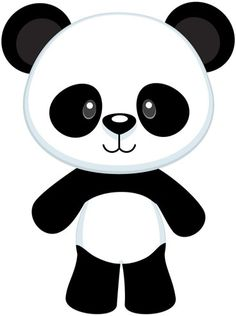 Panda clipart #7