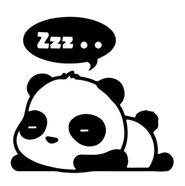 Panda clipart #9