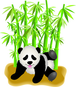 Bamboo clipart cartoon Bear Image Baby in in