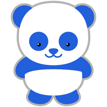 Panda clipart blue Parties Waters editing Everything Movie