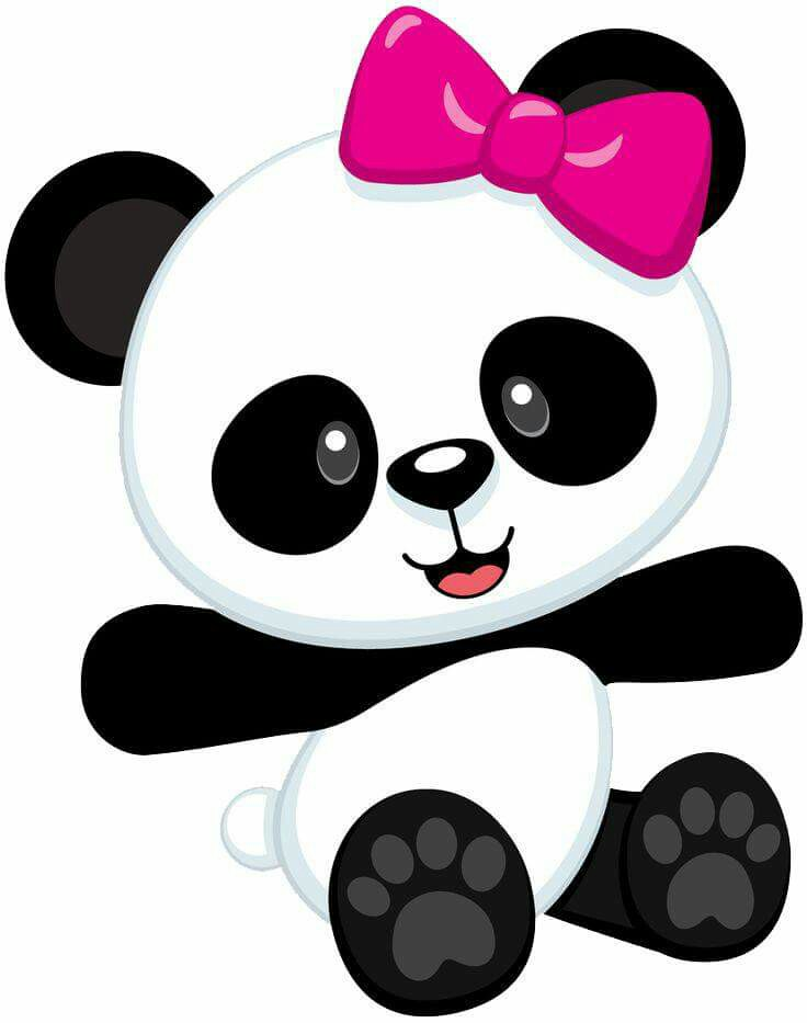 Panda clipart carton Panda Cartoon Cartoon collections clipart