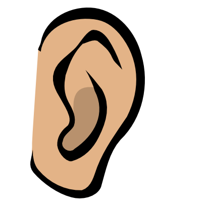Monster clipart ear #3