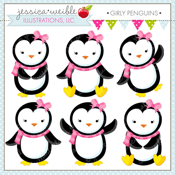 Penguin clipart girly Clipart Penguin Panda baby%20girl%20penguin%20clipart Girly