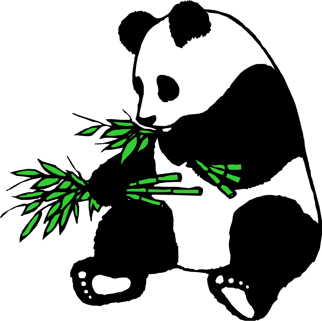 Panda clipart panda bamboo ~ Clipart Bamboo Images Free