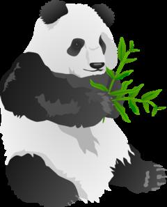 Panda clipart panda bamboo Clipart panda at Bear collection