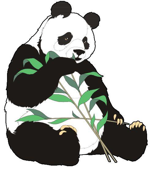 Panda clipart panda bamboo Clip Giant 86 Clipart Art