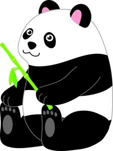 Bamboo clipart panda Clip Free Clip Clipart Panda