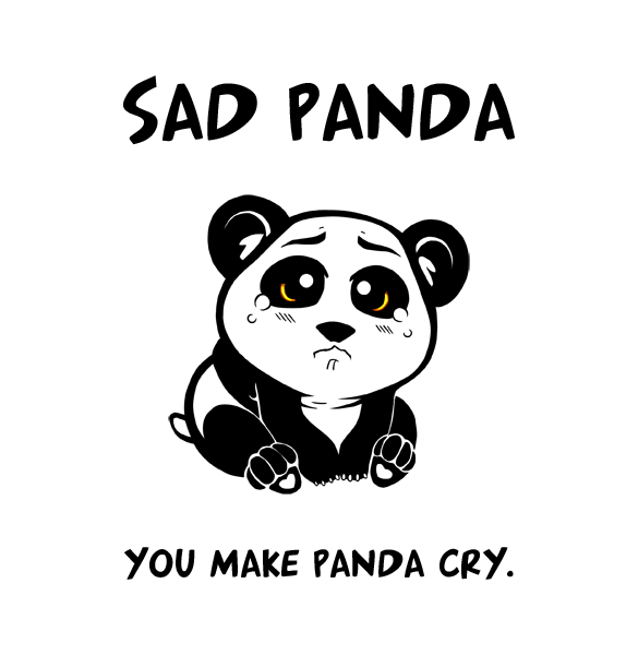 Drawn red panda sad animal (585×600) Panda  Sad_Panda_Chibi_by_mongrelssister png