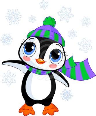 Penguin clipart winter break For winter Free Clipart free