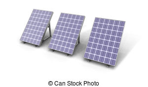 Panels clipart clean energy And EPS Illustrations panels solar