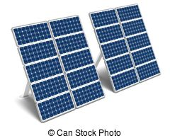Panels clipart clean energy And  Illustrations Two
