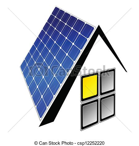 Panels clipart clean energy Illustration Vector panels  Illustration