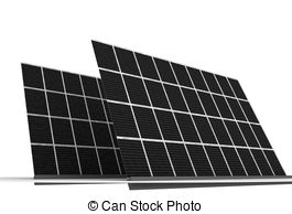 Panels clipart clean energy And Solar Solar  Illustrations
