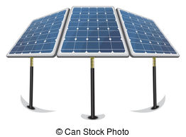 Panels clipart alternative energy Background panels renewable EPS of