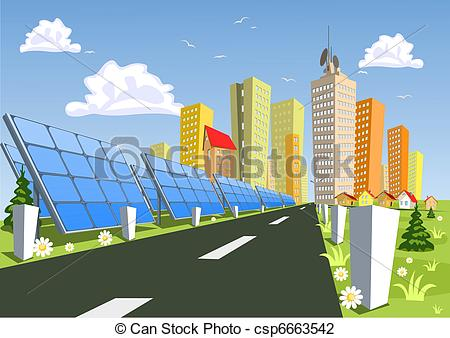 Panels clipart alternative energy System Alternative Vector for panels