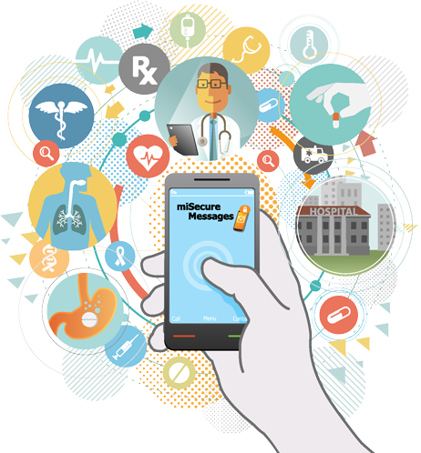 Panels clipart community health Has technology care information improving