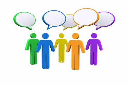 Panels clipart group conversation Ws of Online Panel The