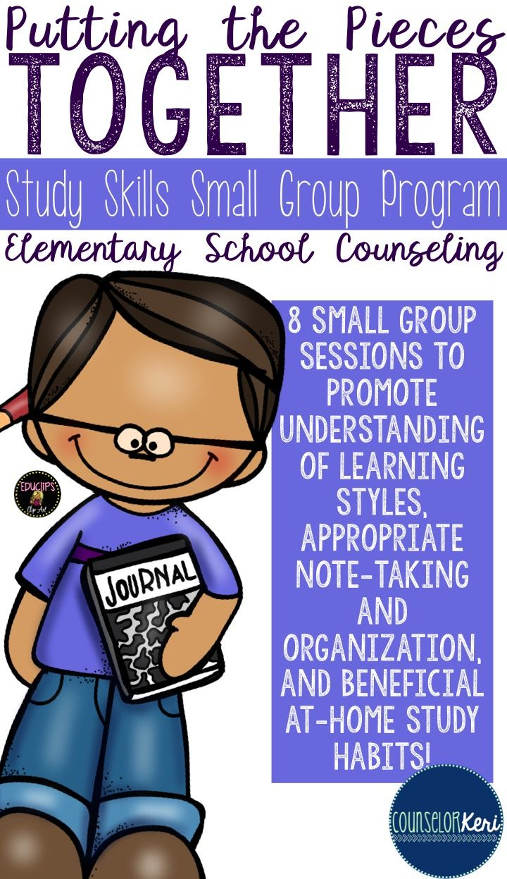 Panels clipart group counseling Skills Study  Study Activities