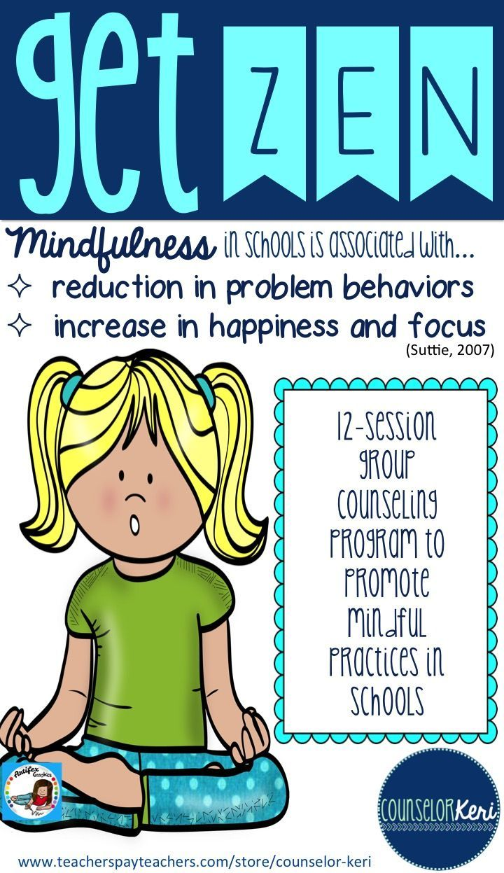 Panels clipart group counseling Mindful Emotional with Social counseling