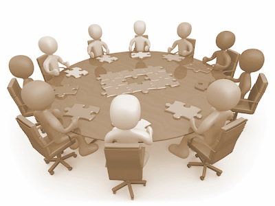 Panels clipart group counseling Interview Clipart Clipart Line Group