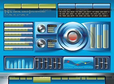 Panels clipart robot control Darkrise website illustration Tech or