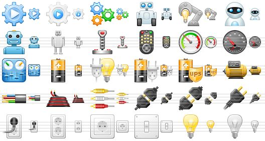 Panels clipart robot control Is automation Software easy pack