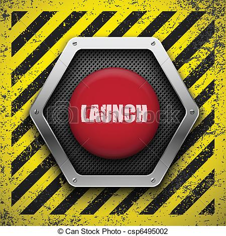 Panels clipart rocket control Button Vector Eps10 Vector Launch